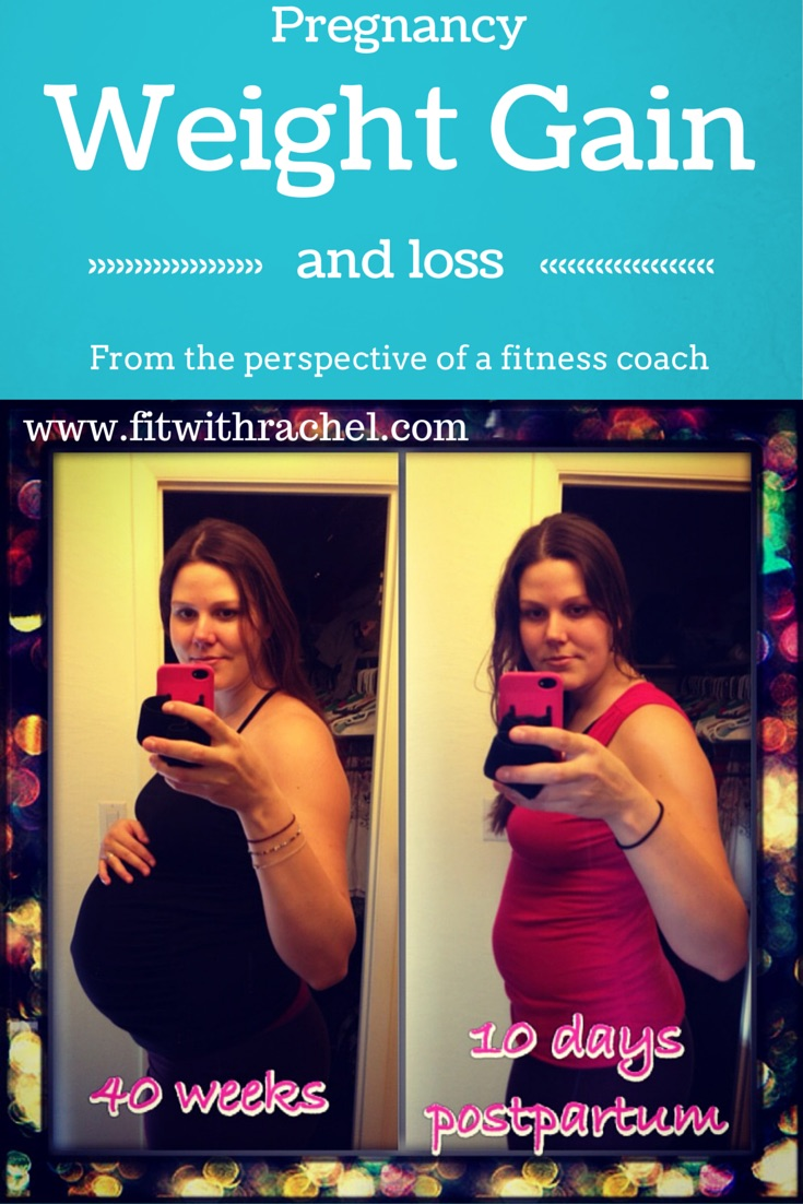 Pregnancy weight gain and loss